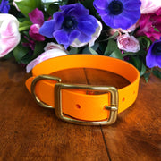 Vegan Leather Leash | Orange