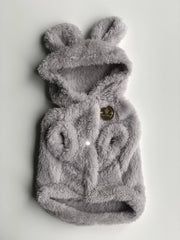 Teddy Coat Grey - Wag Swag Brand Inc