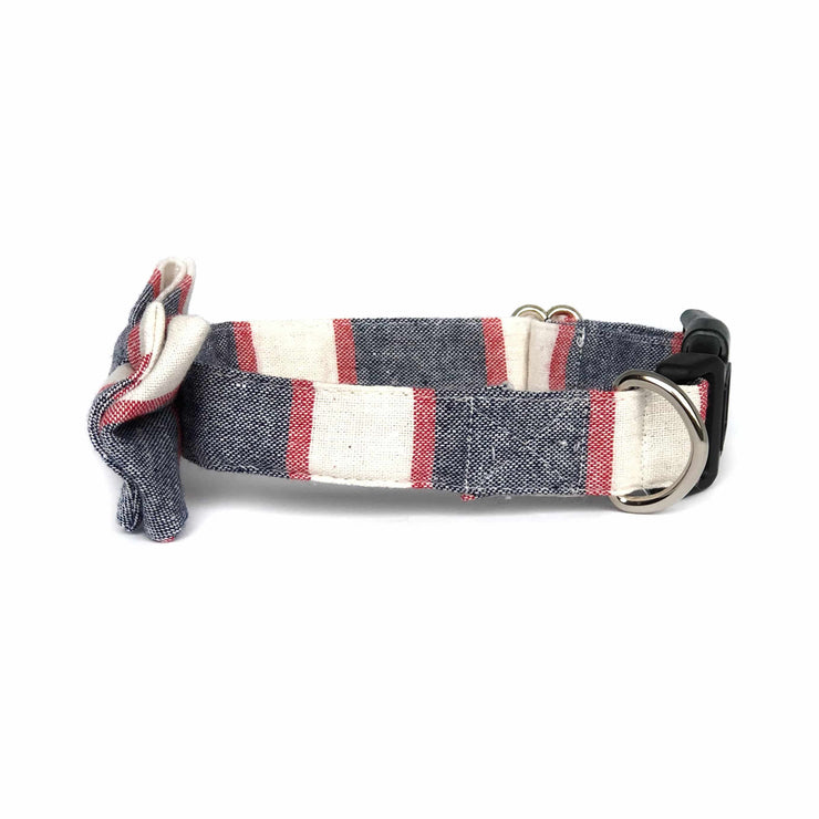 Wag Swag Brand | Bow Tie Dog Collar | Nautical