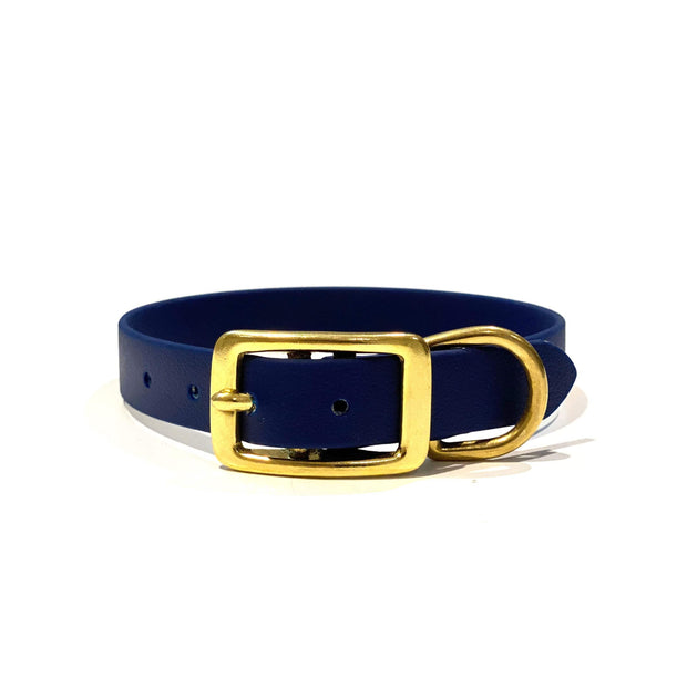 Navy Blue | Vegan Leather Collar