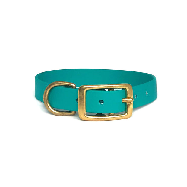 Teal | Vegan Leather Collar