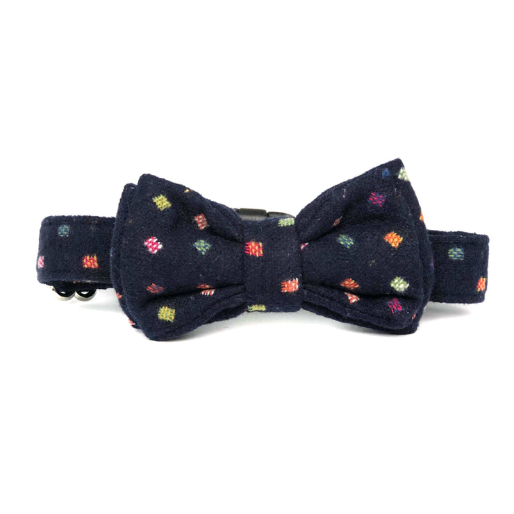 Bow Tie Dog Collar | Wild Navy