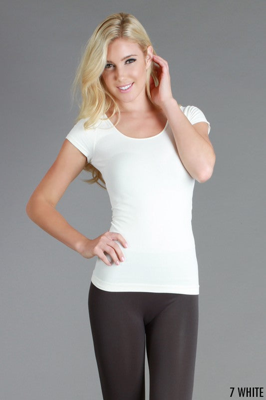 Short Sleeve Jersey Tee Seamless Wear