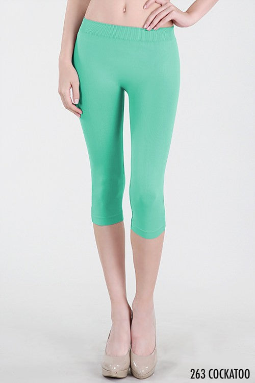 Seamless Wear Capri Legging