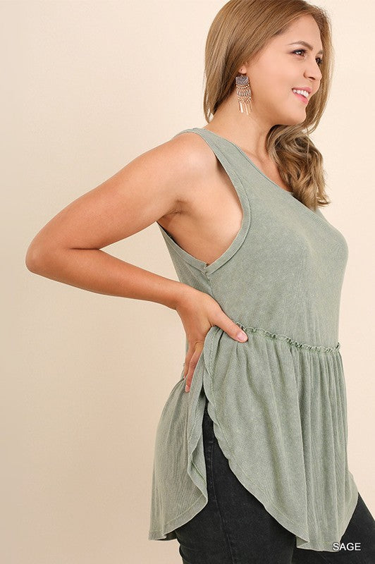 Hi-Lo Sleeveless Top