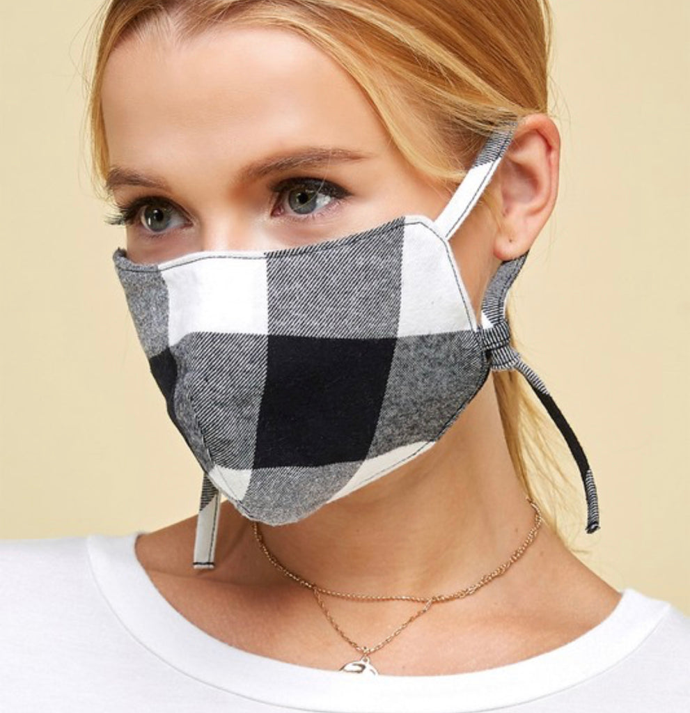 Layered Cotton Face Mask