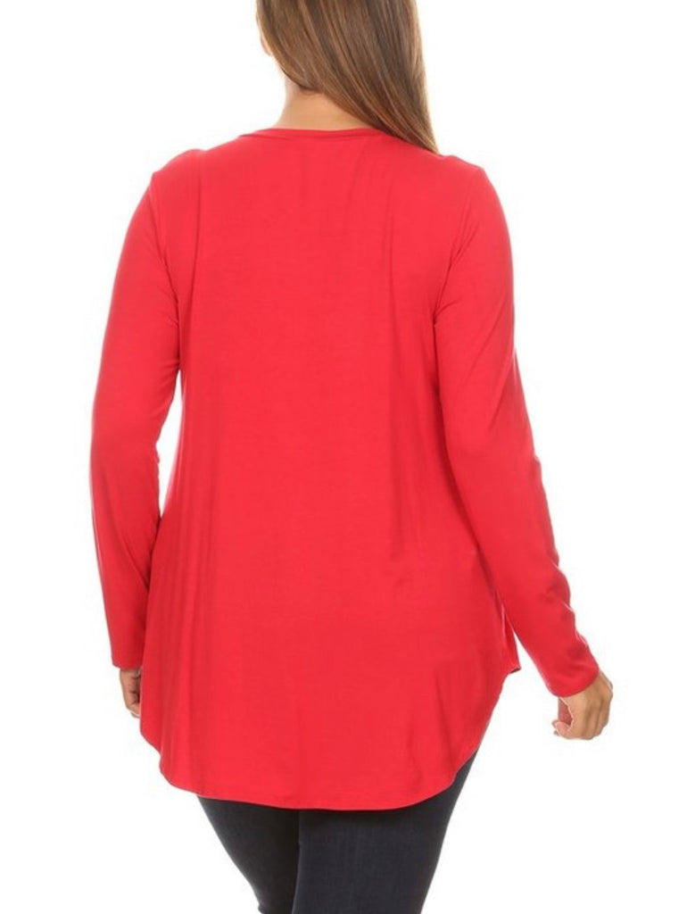 Favorite Long Sleeve Tunic Curvy