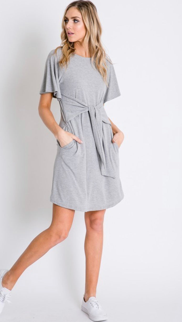 SALE Waist Tie Dress