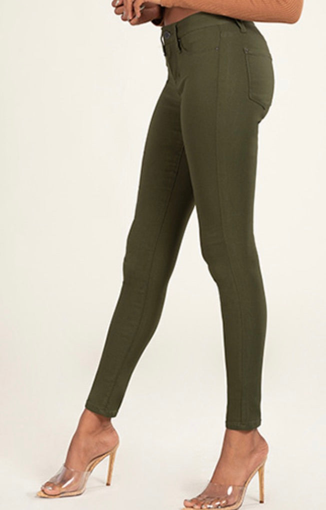 YMI Junior Hyperstretch Misrise Skinny