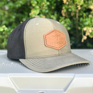 Original Leather Patch Hat (Loden/Black)