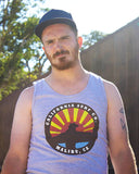 California Surf Co. surfer tank, locals only