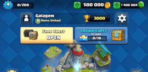 Clash Royale Hack – Free Gems and Gold Cheats
