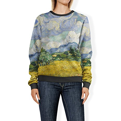 Vincent Van Gogh Fine Art Painting Sweatshirt