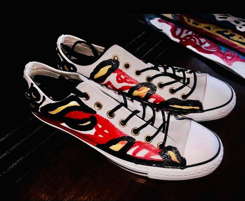 One of a kind Floyd Sneakers