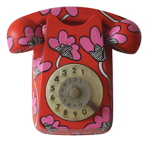 Vintage Floral Themed  Phone