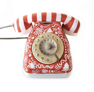 Vintage Christmas Themed Phone
