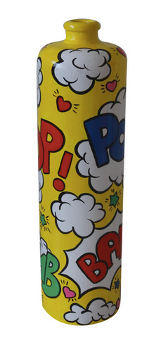 Comic Theme Ceramic Flower Vase