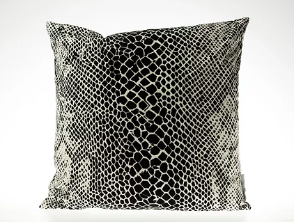 Snake Skin Designer Throw Pillows