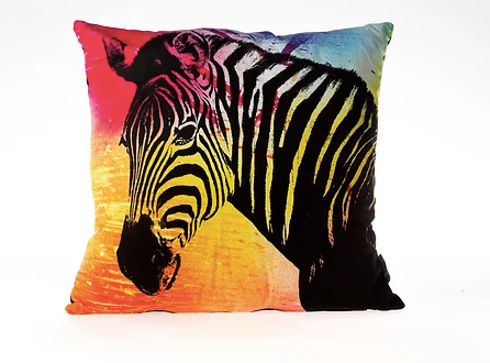 Zebra Designer Throw Pillows
