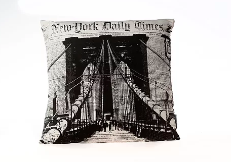 Brooklyn Bridge  Designer Throw Pillows