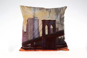 New York  Designer Throw Pillows