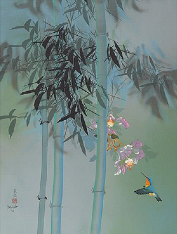 Bamboo And Hummingbird