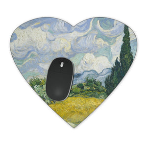 Vincent Van Gogh Fine Art Painting Mousepad - Rectangle Mousepad - Neoprene for Optical & Laser Mouse