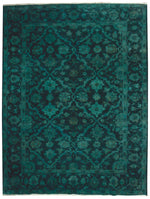 OAKRugs by Chelsea Overdye Rugs Collection. High quality overdyed wool rugs, handmade overdye rugs