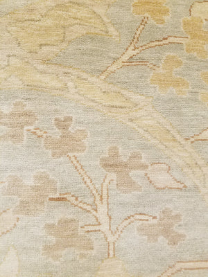 23029 - Classic Tabriz Rug (Wool) - 12' x 15' | OAKRugs by Chelsea high end wool rugs, hand knotted wool area rugs, quality wool rugs