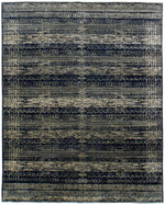 n6079 - Transitional Nandini Rug (Wool) - 8' x 10' | OAKRugs by Chelsea inexpensive wool rugs, unique wool rugs, wool rug vintage