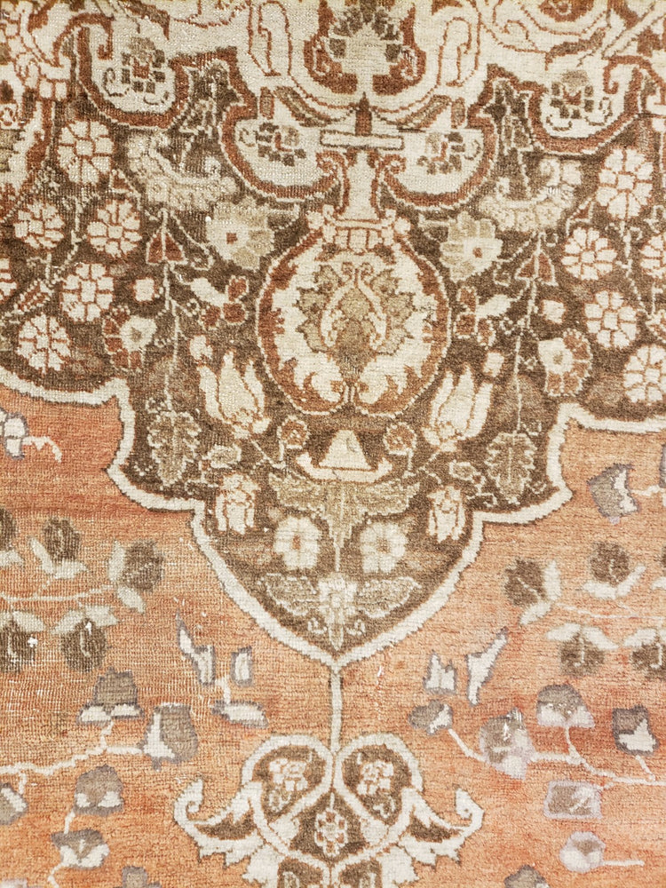 a146 - Antique Tabriz HajaliliRug (9'4'' x 12'8'') | OAKRugs by Chelsea high end wool rugs, hand knotted wool area rugs, quality wool rugs