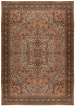 a148 - Antique Tabriz HajaliliRug (15' x 22'3'') | OAKRugs by Chelsea affordable wool rugs, handmade wool area rugs, wool and silk rugs contemporary