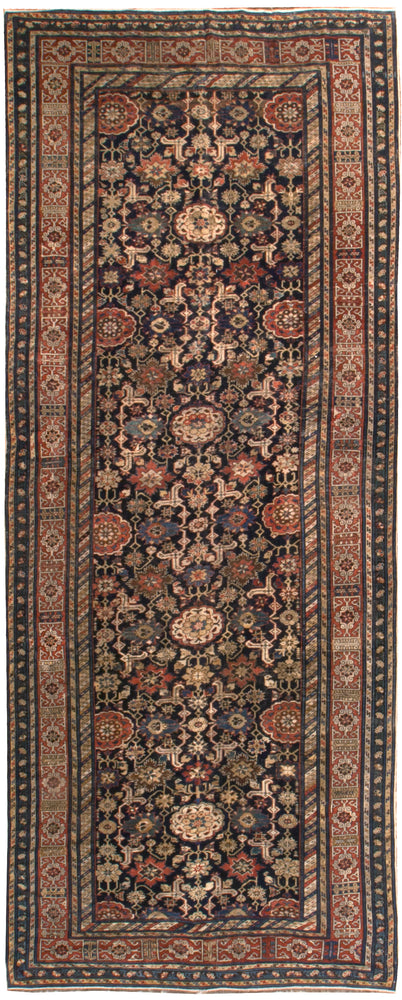 a165 - Antique Shirvan KubaRug (5'2'' x 13'2'') | OAKRugs by Chelsea affordable wool rugs, handmade wool area rugs, wool and silk rugs contemporary