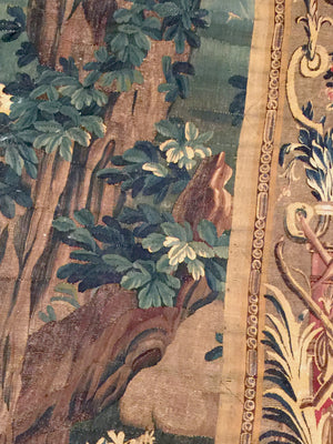a175b - Antique Tapestry , Circa 1660 (10' x 11') | OAKRugs by Chelsea second hand wool rugs, wool area rugs traditional, classical antique European rugs