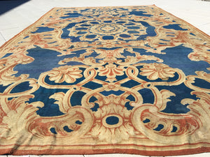 a181 - Antique Axminister Rug (15' x 28') | OAKRugs by Chelsea high end wool rugs, hand knotted wool area rugs, quality wool rugs
