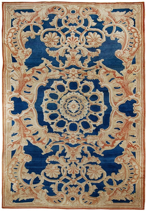 a181 - Antique Axminister Rug (15' x 28') | OAKRugs by Chelsea affordable wool rugs, handmade wool area rugs, wool and silk rugs contemporary