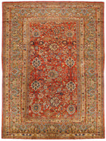 a18 - Antique Zeigler Rug (9'2'' x 13'5'') | OAKRugs by Chelsea affordable wool rugs, handmade wool area rugs, wool and silk rugs contemporary