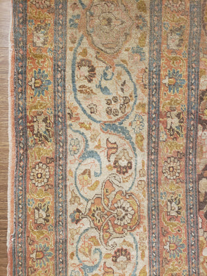 a226 - Antique Tabriz HajaliliRug (9'2'' x 12'5'') | OAKRugs by Chelsea high end wool rugs, hand knotted wool area rugs, quality wool rugs