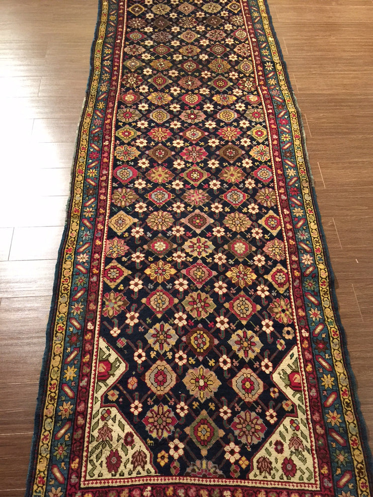 a33 - Antique North West Persian Rug (3'2'' x 14'5'') | OAKRugs by Chelsea high end wool rugs, hand knotted wool area rugs, quality wool rugs