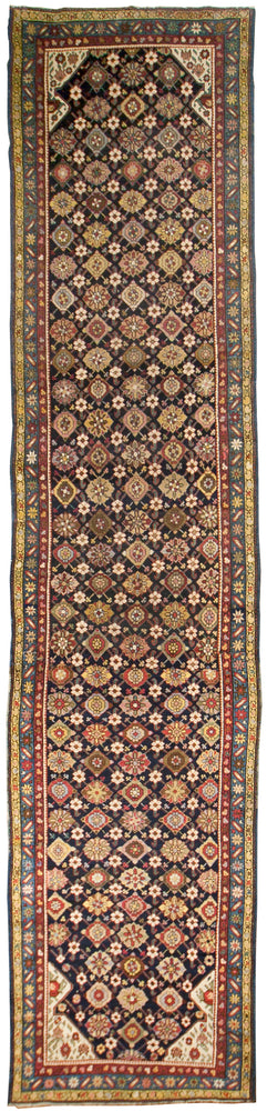 a33 - Antique North West Persian Rug (3'2'' x 14'5'') | OAKRugs by Chelsea affordable wool rugs, handmade wool area rugs, wool and silk rugs contemporary