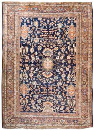 a39 - Antique Ferehan Rug (9' x 12') | OAKRugs by Chelsea affordable wool rugs, handmade wool area rugs, wool and silk rugs contemporary