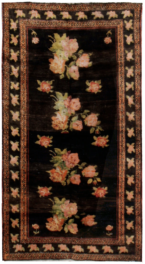 a42 - Vintage Gharabagh Rug, Circa 1950, 5' x 7' | OAKRugs by Chelsea affordable wool rugs, handmade wool area rugs, wool and silk rugs contemporary