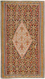 a433 - Antique Senneh Rug (4'6'' x 6'10'') | OAKRugs by Chelsea affordable wool rugs, handmade wool area rugs, wool and silk rugs contemporary