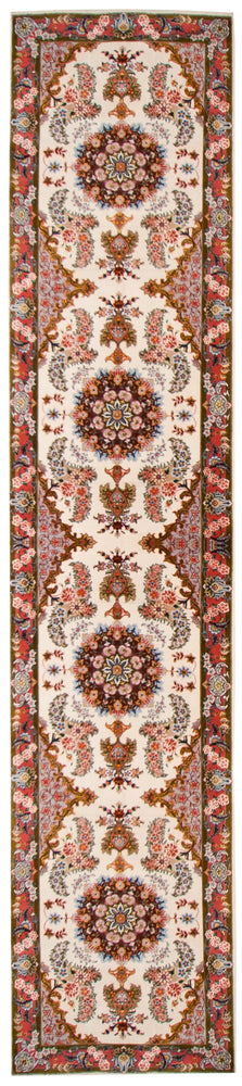 a442 - Antique Tabriz Rug (2'7'' x 13'3'') | OAKRugs by Chelsea affordable wool rugs, handmade wool area rugs, wool and silk rugs contemporary