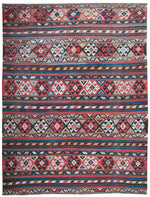 a52 - Antique Kilim Rug (6'2'' x 8'2'') | OAKRugs by Chelsea inexpensive wool rugs, unique wool rugs, wool rug vintage