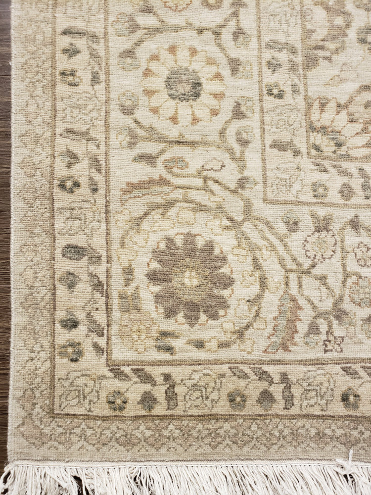 ik1019 - Classic Tabriz Rug (Wool) - 6' x 9' | OAKRugs by Chelsea high end wool rugs, hand knotted wool area rugs, quality wool rugs