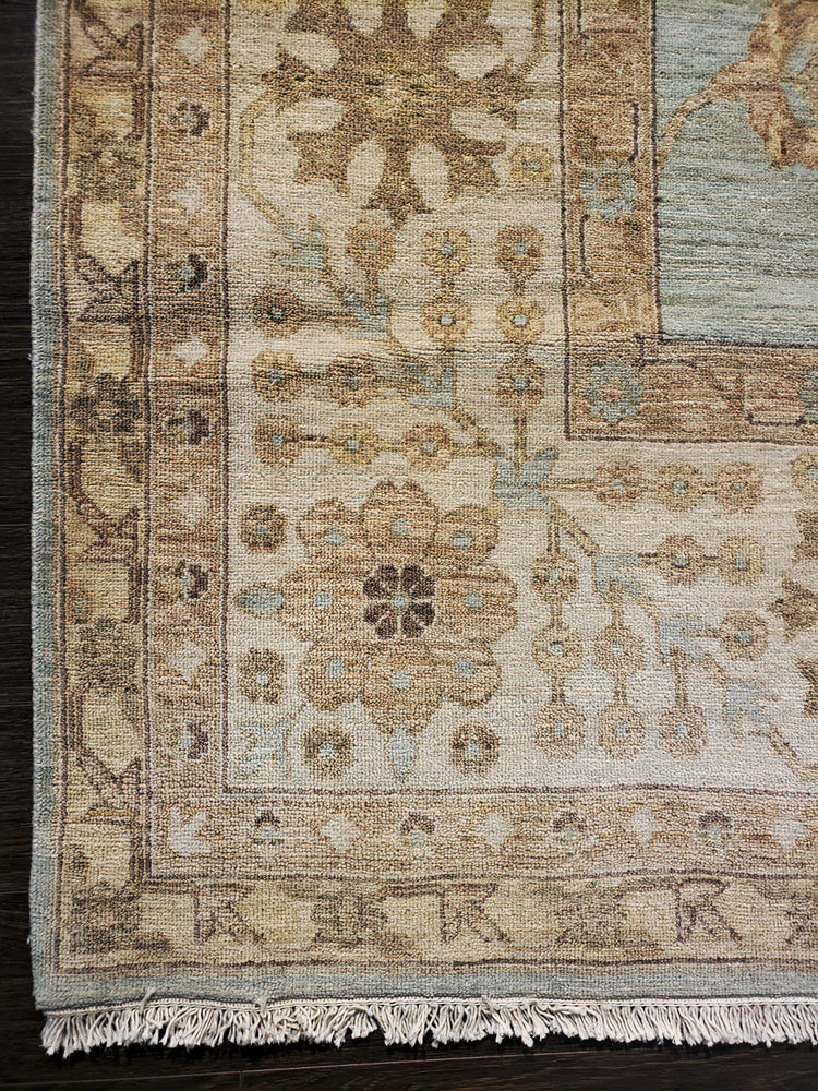 ik1226 - Transitional Tabriz Rug (Wool) - 10' x 14' | OAKRugs by Chelsea high end wool rugs, hand knotted wool area rugs, quality wool rugs