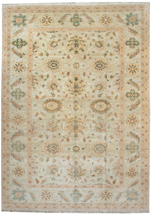 ik1940 - Classic Zeigler Rug (Wool) - 9' x 12' | OAKRugs by Chelsea affordable wool rugs, handmade wool area rugs, wool and silk rugs contemporary