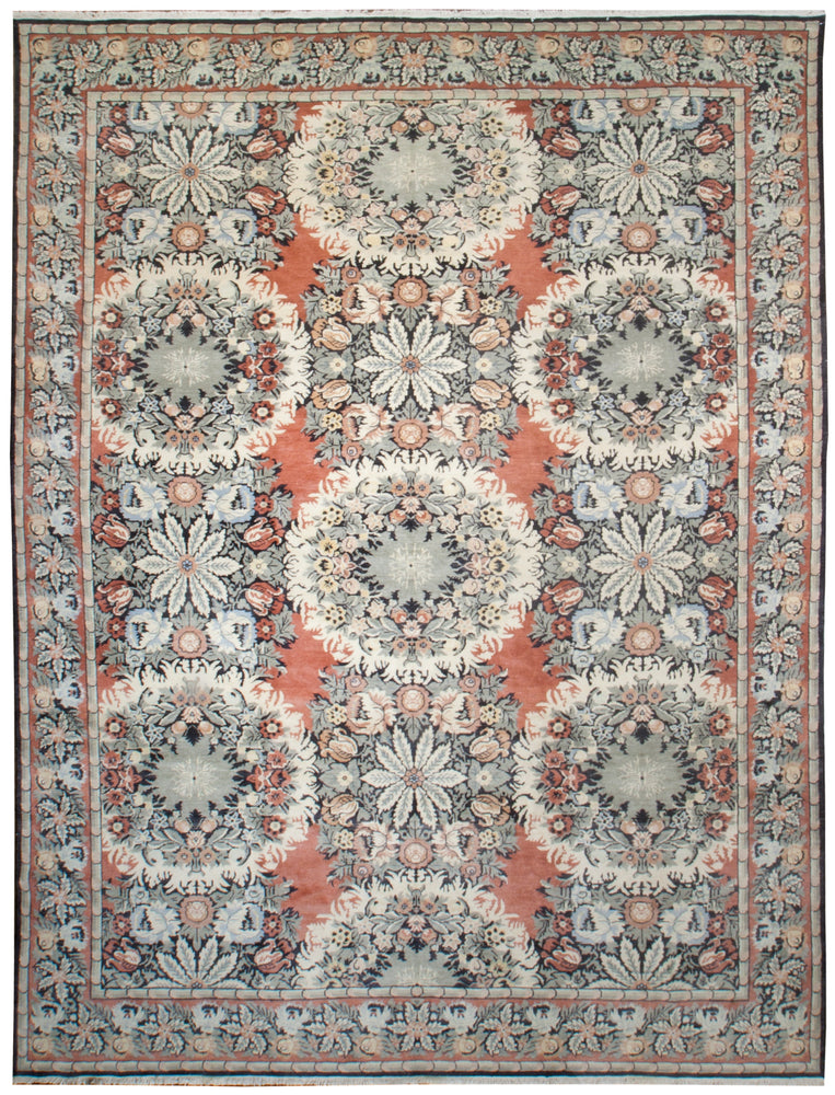 ik1966 - Classic Besserebian Rug (Wool) - 10' x 13' | OAKRugs by Chelsea affordable wool rugs, handmade wool area rugs, wool and silk rugs contemporary