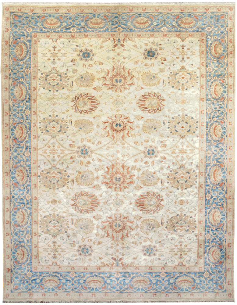 ik2031 - Classic Zeigler Rug (Wool) - 8' x 10' | OAKRugs by Chelsea affordable wool rugs, handmade wool area rugs, wool and silk rugs contemporary